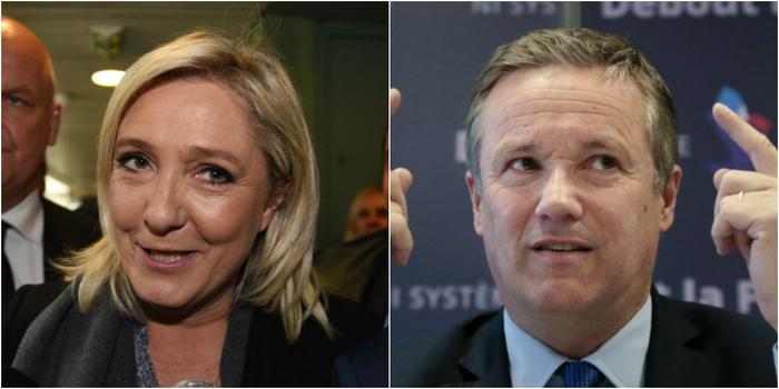 Européennes : Dupont-Aignan refuse (pour l'heure) la proposition de liste commune de Marine Le Pen