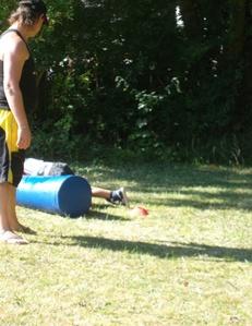 Fête des enfants à NANTEUIL le 09 Sept 2012.