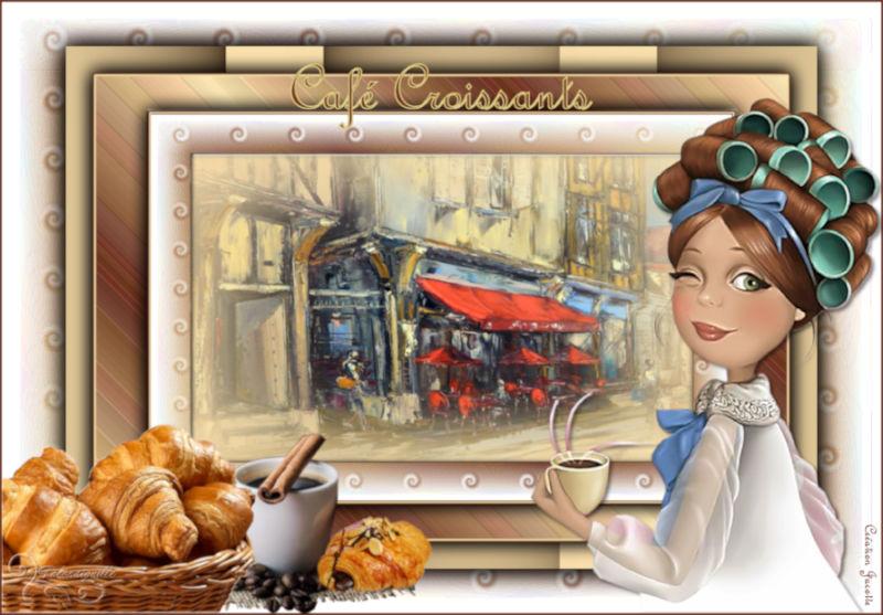 *** Café Croissants ***