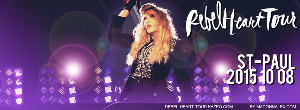 Madonna - The Rebel Heart Tour StPaul