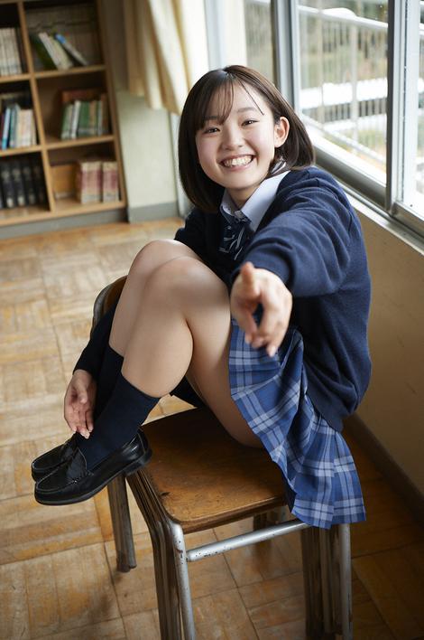 WEB Gravure : ( [WPB-net] -  Extra No.886  Hiyori Hanasaki : スーパールーキーは18歳。 )