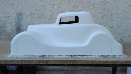 Traçage, découpe et présentation sur le chassis