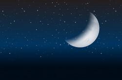 La lune - Esteban et Marie