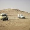 Mauritanie Premier bivouac près de la frontière