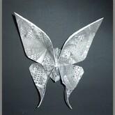 Origami zendoodle : le papillon