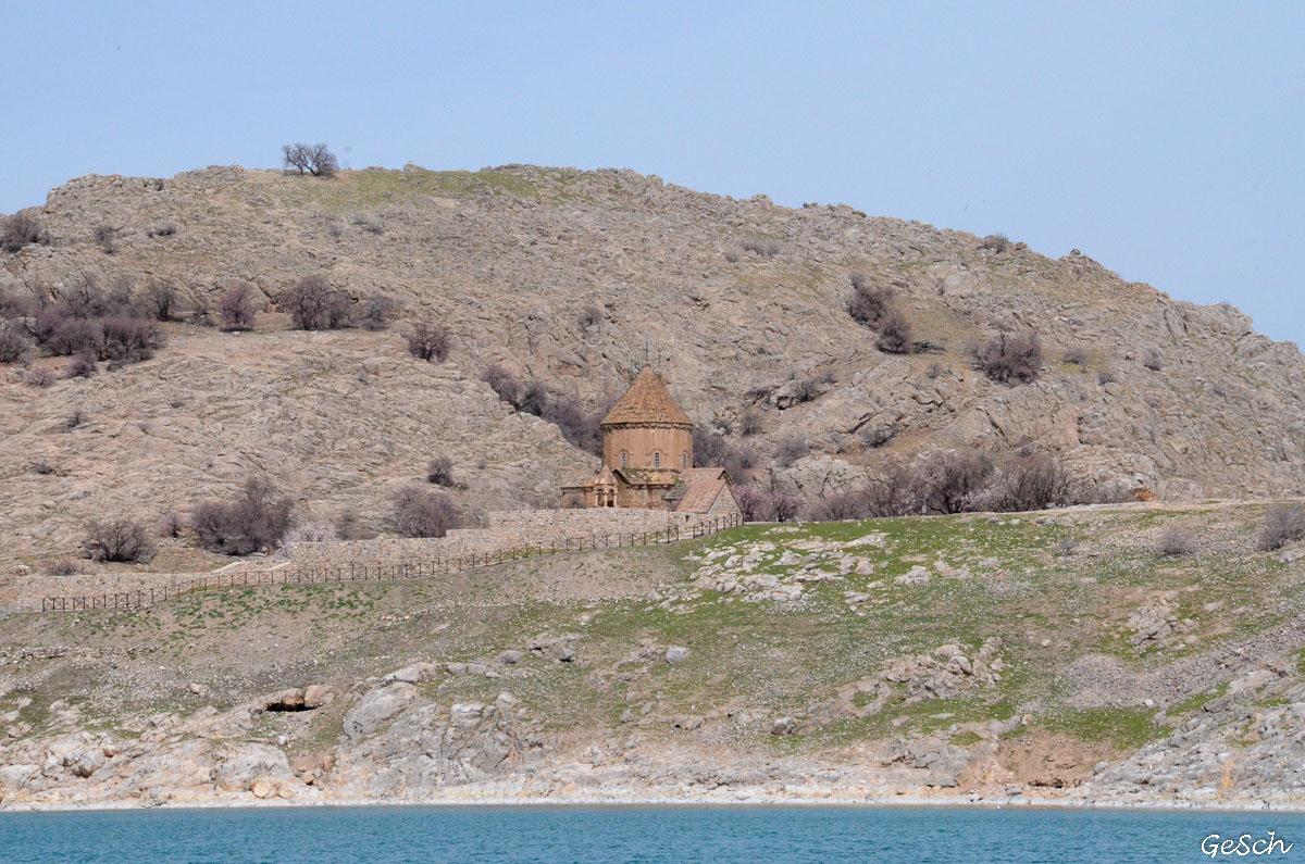 akdémar turquie lac van