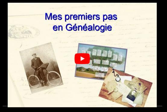 Gene@event2020 Mes premiers pas en généalogie