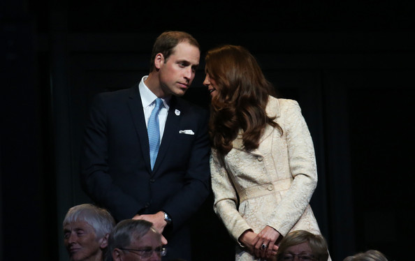 Kate et William à la cérémonie