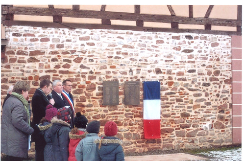 * GRUSSENHEIM a commémoré le 70e anniversaire de sa Libération