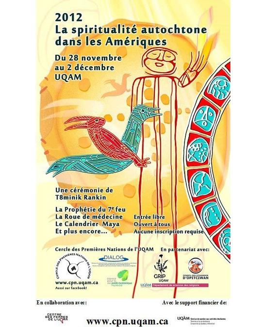 «La spiritualité autochtone dans les Amériques»