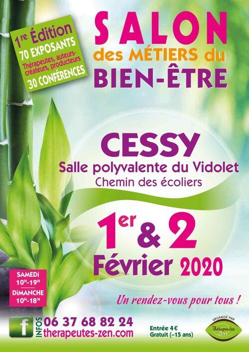 Salon du bien-être, 1er & 2 février, Cessy