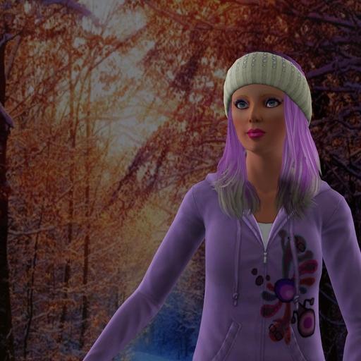 Barbie en hiver