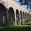 le pont aqueduc route de Chéroy