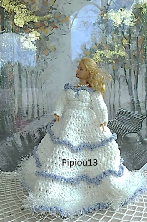Barbie modèle Troïka inspiration russe