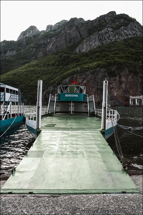 Albanie le Lac de Koman