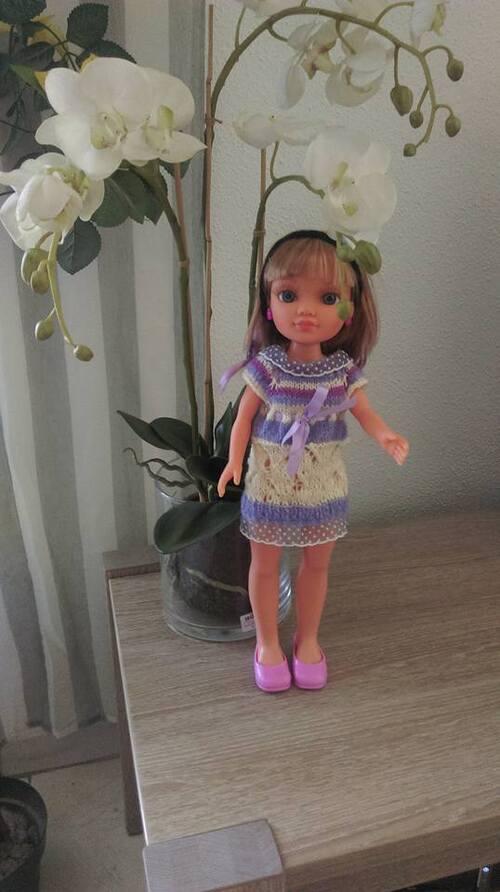marianne et sa nouvelle robe