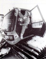 Janvier 1987 : Sheila skie
