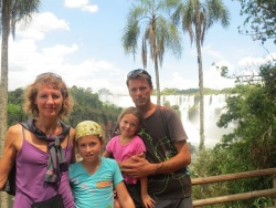 Les chutes d'Iguazu.