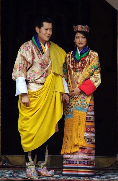 Mariage royal au Bouthan