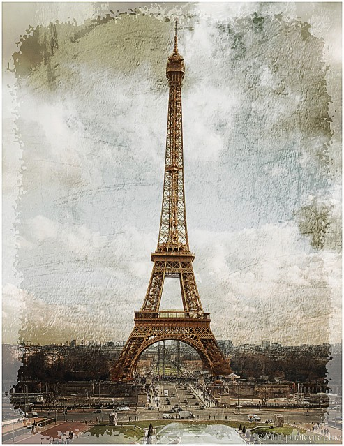 La Tour Eiffel . copie