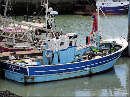 Photo chalutier pêche arrière (la Cotinière - île d'Oléron)