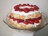 Shortcake aux fraises façon gâteau des anges