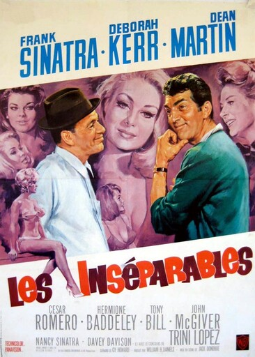 LES INSEPARABLES BOX OFFICE 1966