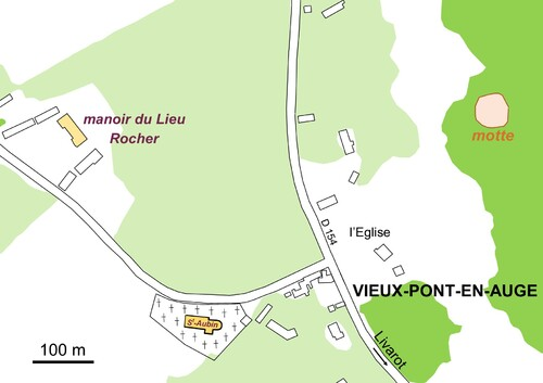 LES REMPARTS DE VIEUX-PONT-EN-AUGE (Calvados)