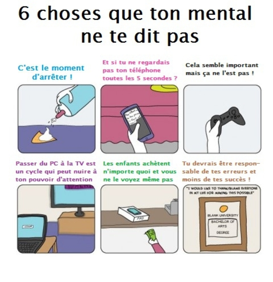 6 choses que le mental ne dit pas