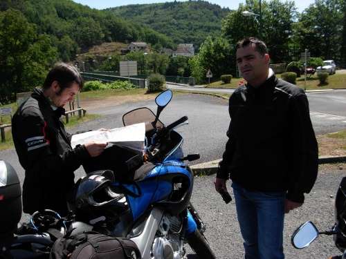 etape 1 :  Vichy- Le Mont Dore