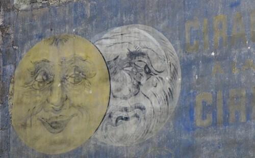 Eclipse mur peint Batignolles 1
