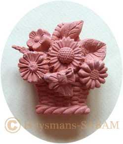 moule pour artisanat d'art bouquet d'été - Arts et sculpture: sculpteur mouleur