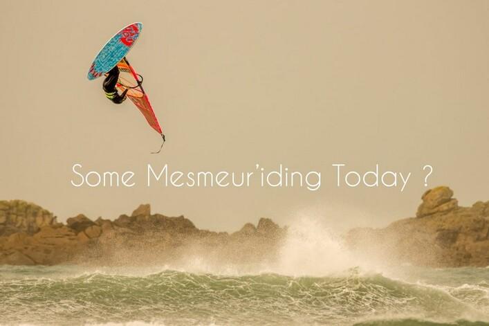Vidéo : Philippe Mesmeur à la maison :windsurf