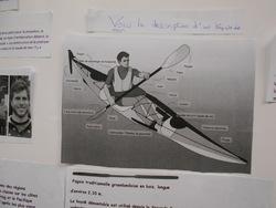 Exposé sur le kayak par Kilian.