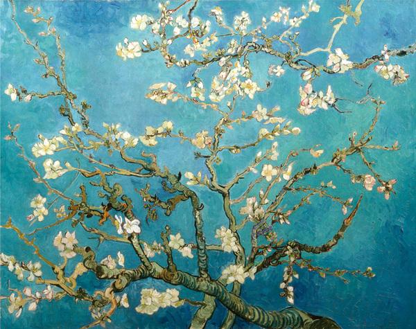 Samedi - Le tableau du samedi : Van Gogh toujours...oliviers au printemps