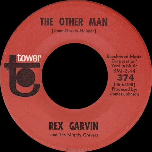 "Rex Garvin & The Mighty Cravers : CD "" Believe It Or Not The Full Singles 1957-1971 "" SB Records DP 132 [ FR ]"