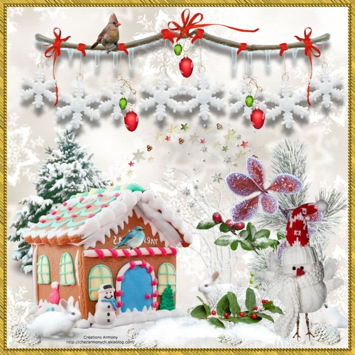Tags de Noël 7