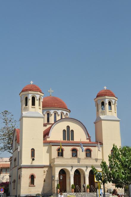 l'église des Quatre Martyrs de Réthymnon