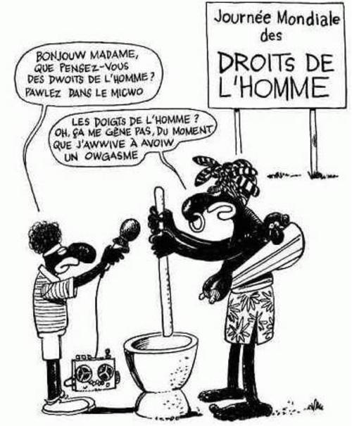 JOURNEE MONDIALE DES DROITS DE L'HOMME