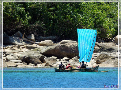 Voiles - Hell-Ville (Andoany) - Nosy Be - Madagascar