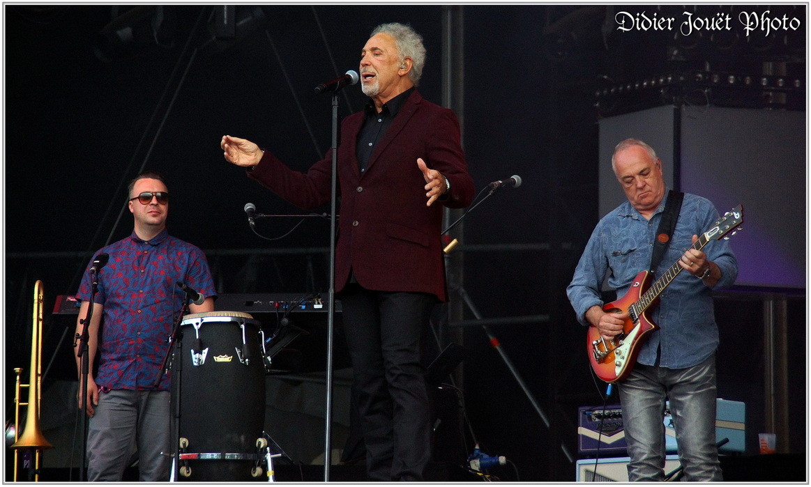 Tom Jones / Vieilles Charrues 2015