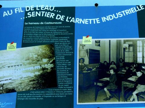 Haupoul et les eaux de l'Arnette