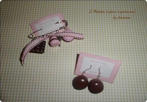 Pomme d'amour, cerise et chocolat