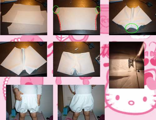 Le Bloomer taille 2ans