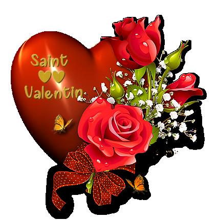 Valentine se prépare....