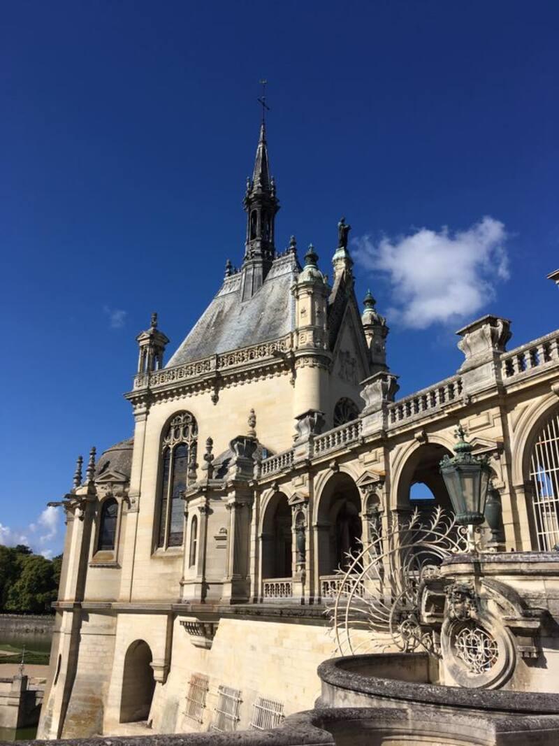 Au château de Chantilly...