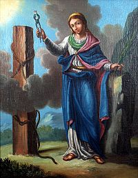 Sainte Apolline, Martyre à Alexandrie (+ 249)
