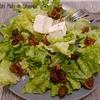 salade figues séchées et fromage