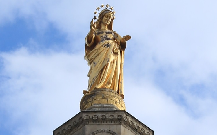 Avignon (84): La Cathédrale Notre-Dame-des-Doms
