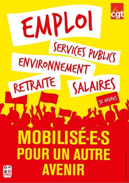 17 SEPTEMBRE : Journée de mobilisation  contre les mesures régressives du gouvernement !